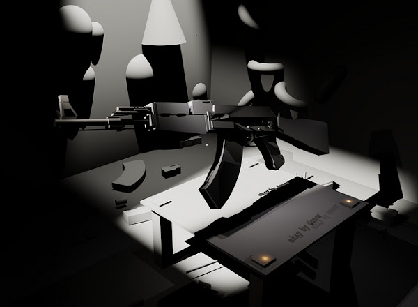 big black gun