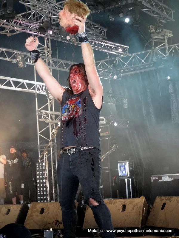 Exhumed @ Hellfest 2011 - Samedi 18/06/2011
