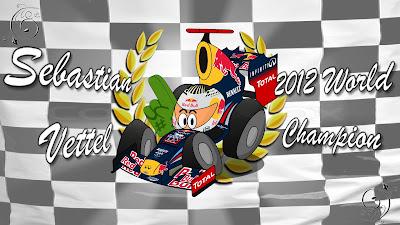 Себастьян Феттель чемпион 2012 Los MiniDrivers