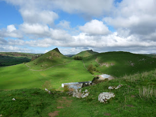 Parkhouse Hill and Chrome Hill beyond