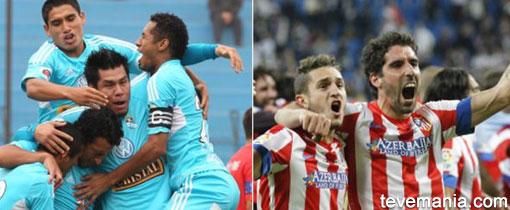 Sporting Cristal vs Atlético de Madrid en Vivo - Euroamericana
