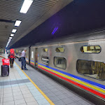 Nocny pociąg z Kuala Lumpur do Singapuru