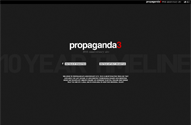 propaganda3 10th anniversary timeline