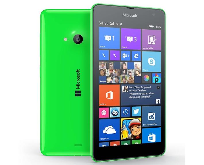 Microsoft Lumia 535 - Spesifikasi Lengkap dan Harga
