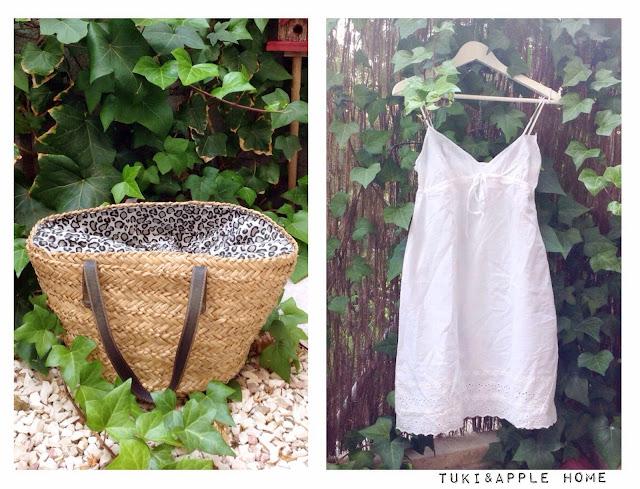 Tuki apple home diy c mo renovar un capazo o cesta de playa - Capazo mimbre playa ...