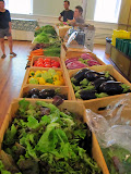 At my brother John's vegetable market yesterday