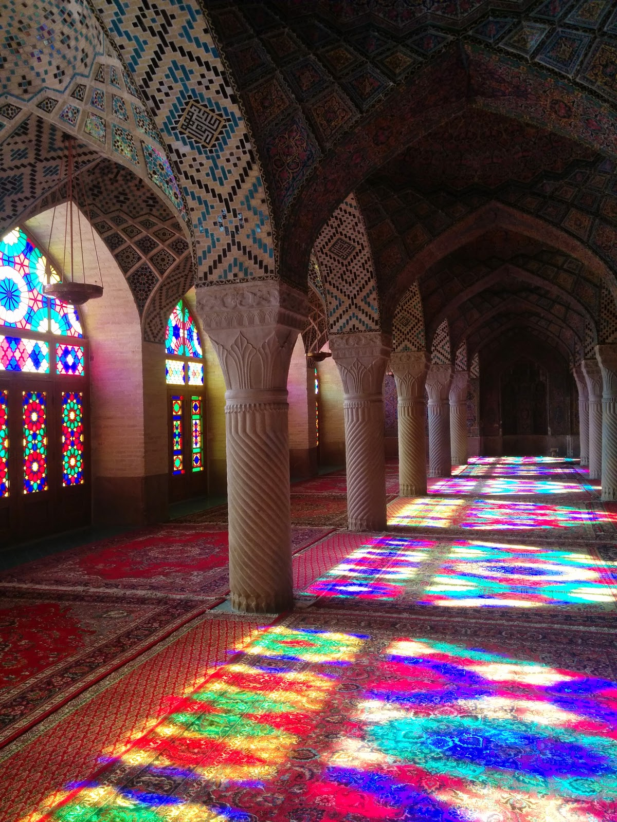 Pink Mosque of Shiraz