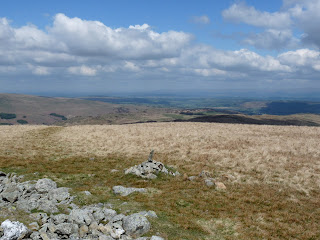 Extensive views from Selside Pike summit