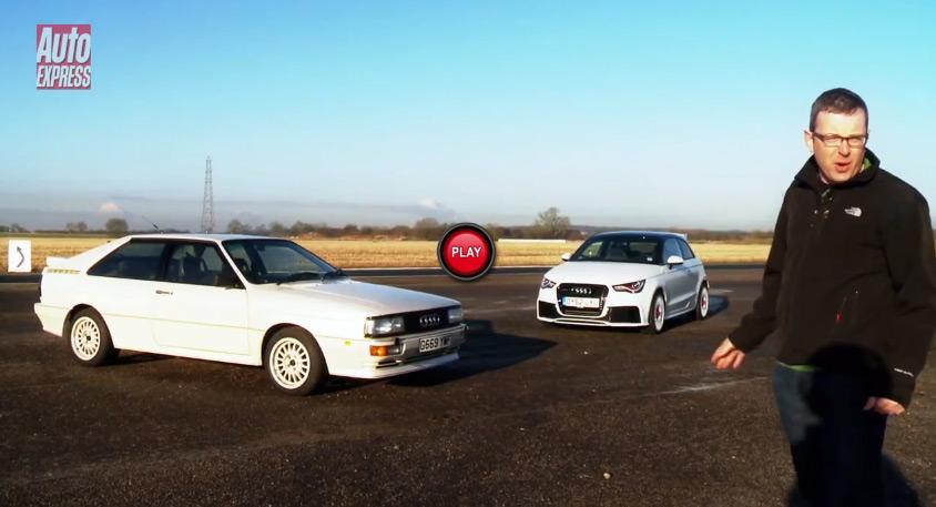Audi A1 quattro, Audi Ur-Quattro
