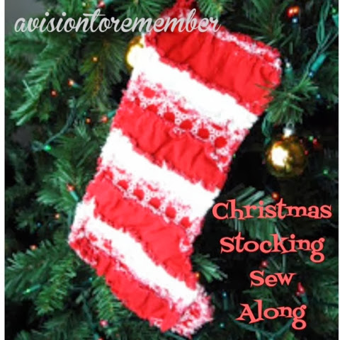 how to sew a scrap fabric christmas stocking