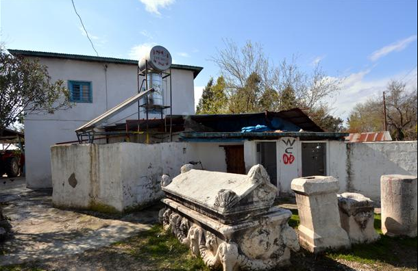 Turkish villager issued permit to display Graeco-Roman artefacts in her garden