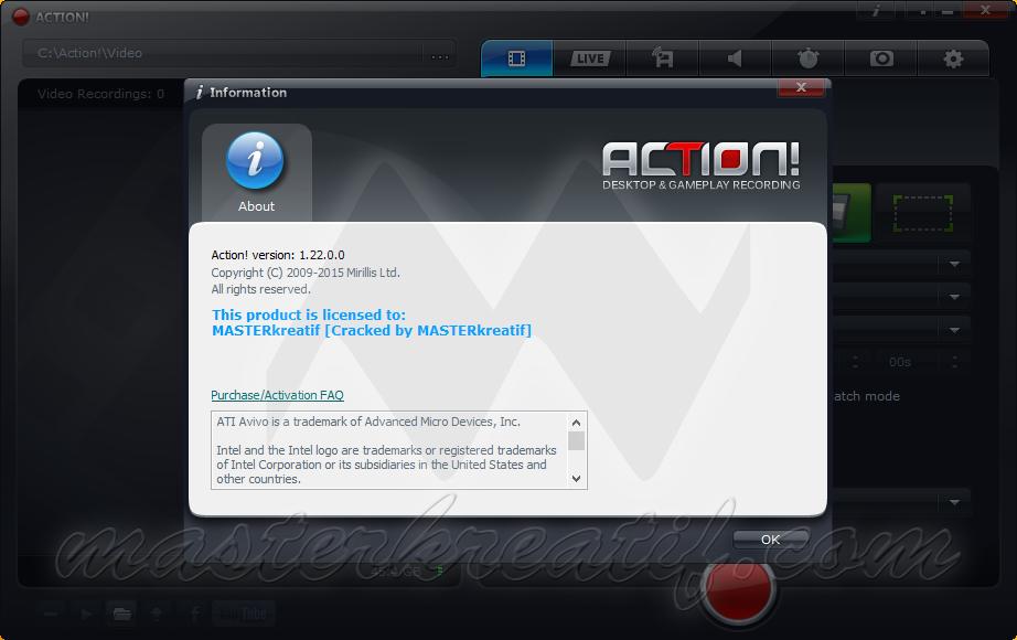 Mirillis Action! 1.22.0