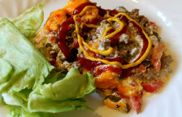 Cheeseburger Pie {Gluten-Free}
