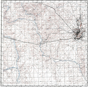 Map 100k--l42-003--(1964)