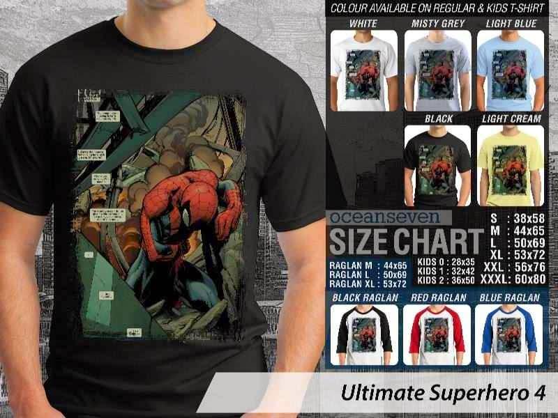 KAOS spiderman 4 Ultimate Superhero distro ocean seven