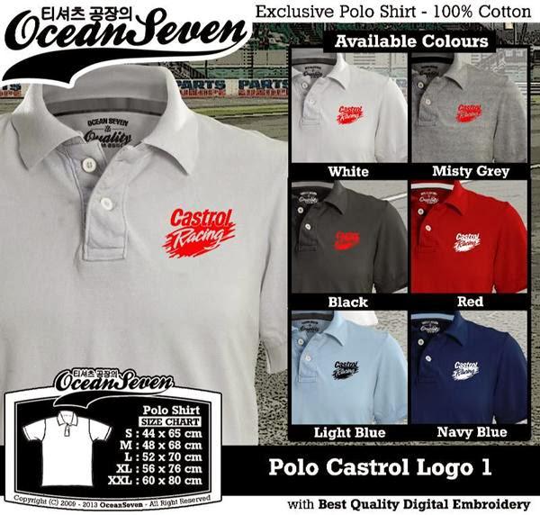 POLO Castrol Logo distro ocean seven