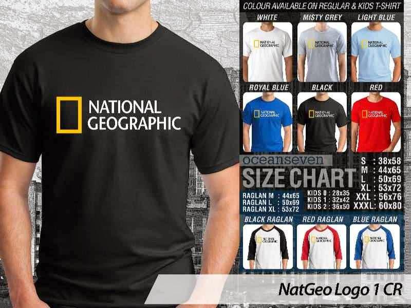 Kaos National Geographic NatGeo Logo 1 distro ocean seven