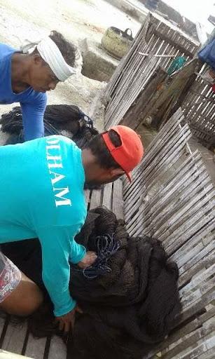 nelayan jala jaring nelayan mandar