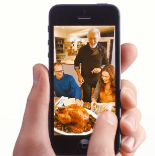 Apple Talks Turkey In Their Newest iPhone 5 TV Ad