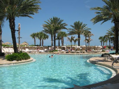 Pool area of Sandpearl Clearwater image