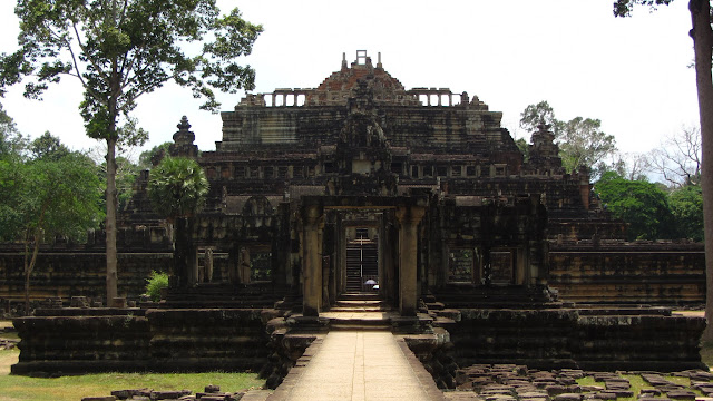 Baphuon Temple in Angkor Thom.