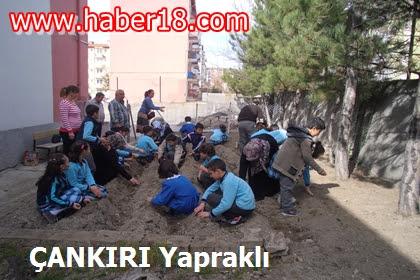 Mareşal Çakmak İlkokulu Öğrencileri Toprağı Keşfediyoruz Konulu E