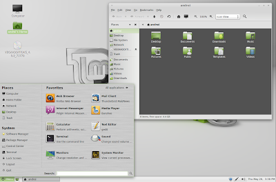 Linux Mint 11 screenshots
