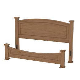 Concord Narrow Platform Bed
