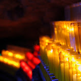 Prayer Candles - Montserrat, Spain
