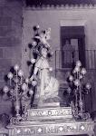 Romería de santa Águeda. Años 40. (Biblioteca Municipal de Catral).