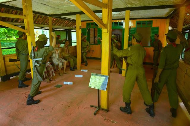 Barak, w którym przesłuchiwano i zabito porwanych generałów.