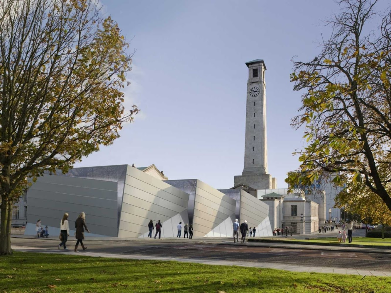 Southampton, Regno Unito: Sea City Museum by Wilkinson Eyre Architects