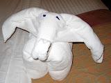 Towel Elephant! - Carnival Valor