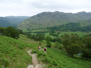 Rosthwaite Fell ... Bessyboot ... from descent back down to Seatoller.