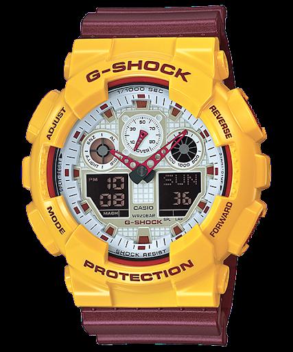 Casio G-Shock : GA-100CS-9A