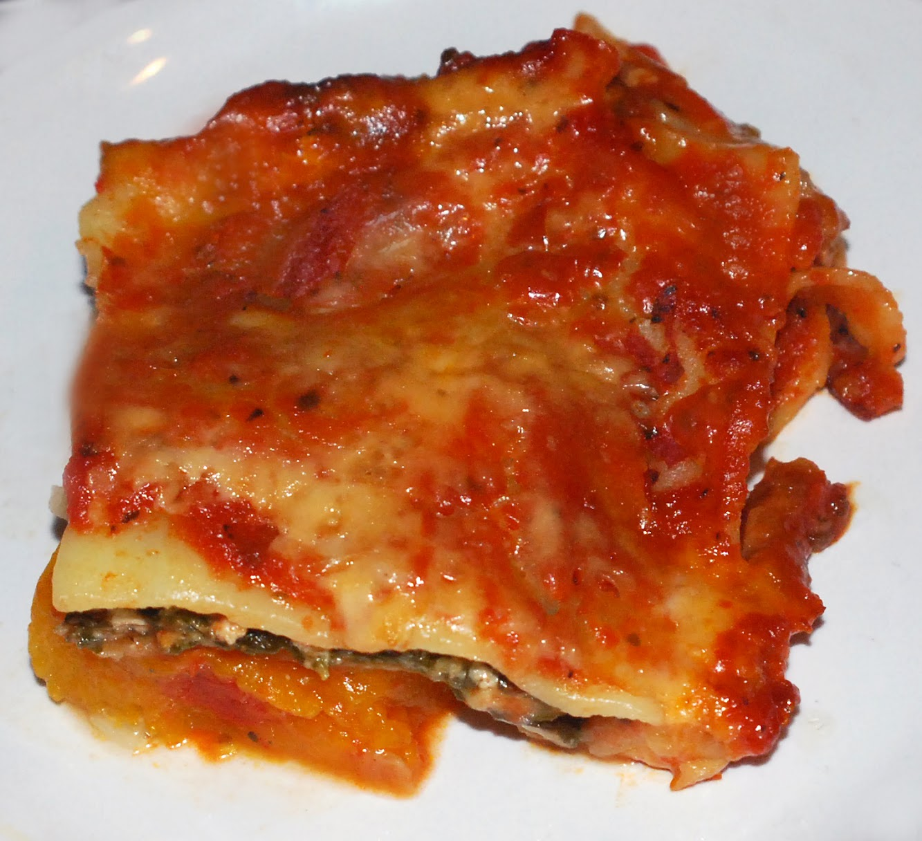Butternut Squash and Chard Lasagna