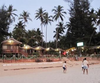Beach Hut in Goa