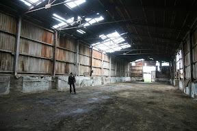 Napuštena hala, negdje na Srednjem Uralu
