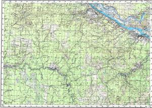 Map 100k--p38-091_092--(1984)