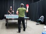 let the ping-pong rivalries resume!  The real challenge is to get Josh to actually put his cup down and play you