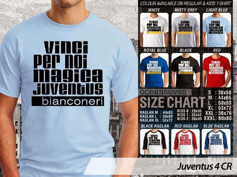 Kaos Bola Juventus 4 Lega Calcio distro