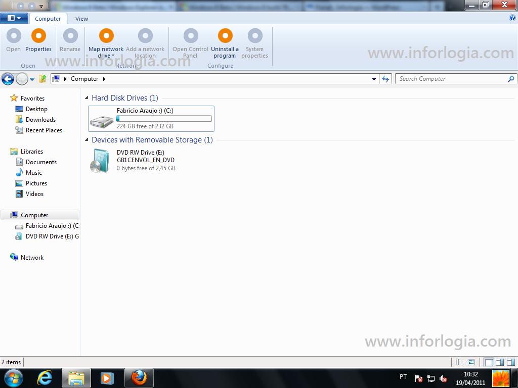 Explorer Ribbon Windows 8