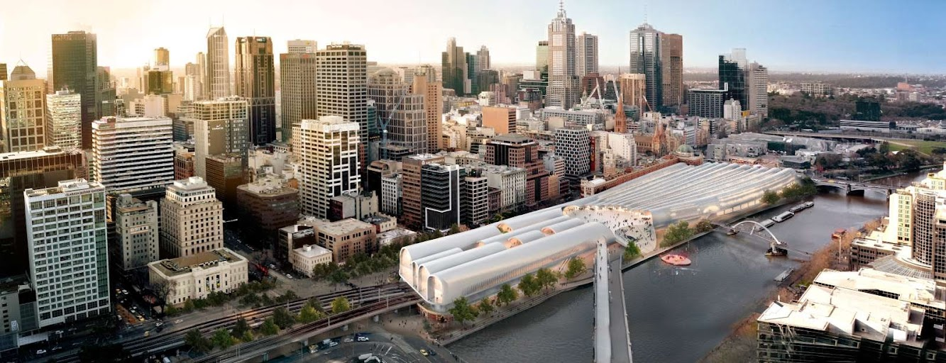 Flinders Street Station Design Competition by Herzog de