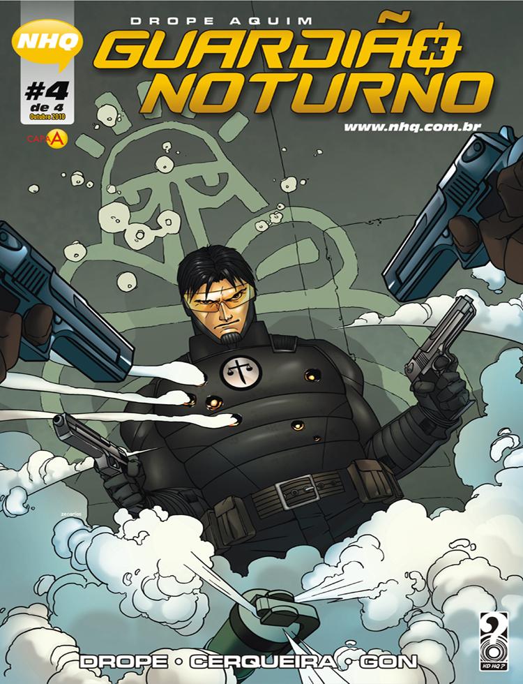 Guardião Noturno 4 - Capa