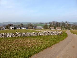 Looking back to Hanson Grange