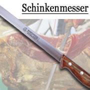Schinkenmesser Serano Schinken Messer von Marsvogel Solingen. Serano Messer aus Solingen.