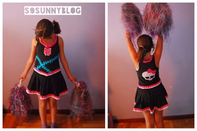 Disfraz Monster high Asustadora. Monster High Cheerleader costume