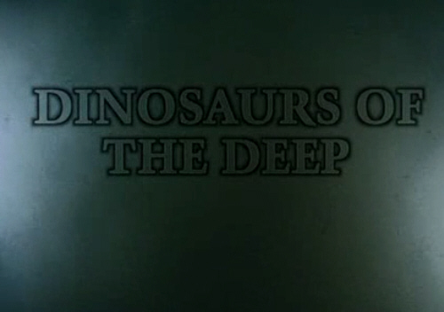Dinozaury z g³êbin / Dinosaurs of the Deep (2000) PL.TVRip.XviD / Lektor PL