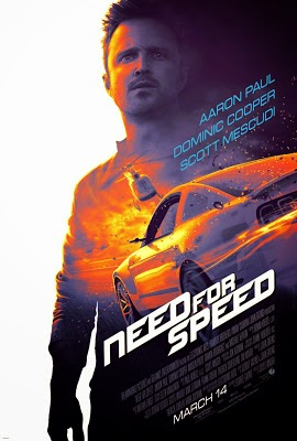Poster Of Free Download Need for Speed 2014 300MB Full Movie Hindi Dubbed 720P Bluray HD HEVC Small Size Pc Movie Only At cintapk.com