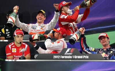 фотошоп пресс-конференции с пьющими гонщиками Формулы-1 от pinnacle racing